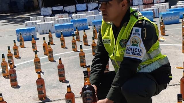 Contrabando por $28 millones en licores y cigarrillos cayó en Valledupar