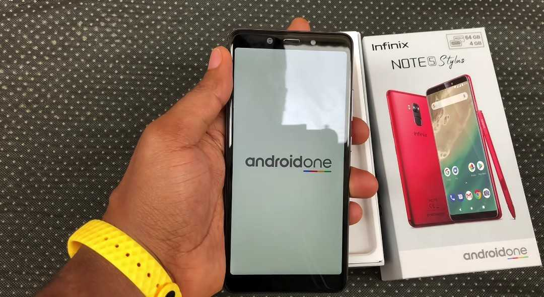 androidOne Oreo On The Infinix Note 5 Pro phone.