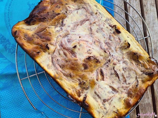 Käsekuchen-Brownie Rezept