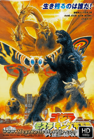 Godzilla, Mothra And King Ghidorah: Giant Monsters All-Out Attack [1080p] [Japones-Ingles Subtitulado] [MEGA]