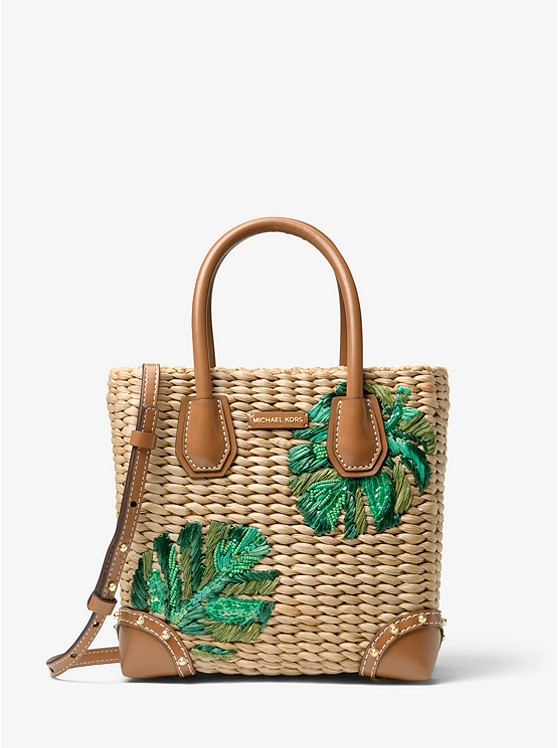 5f365a011 Malibu Palm Embroidered Woven Straw Crossbody £270.00 Michael Kors (Shop  Now)