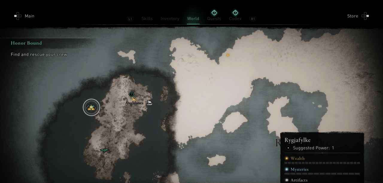 Rygjafylke, Norway  Ingot 1 Map