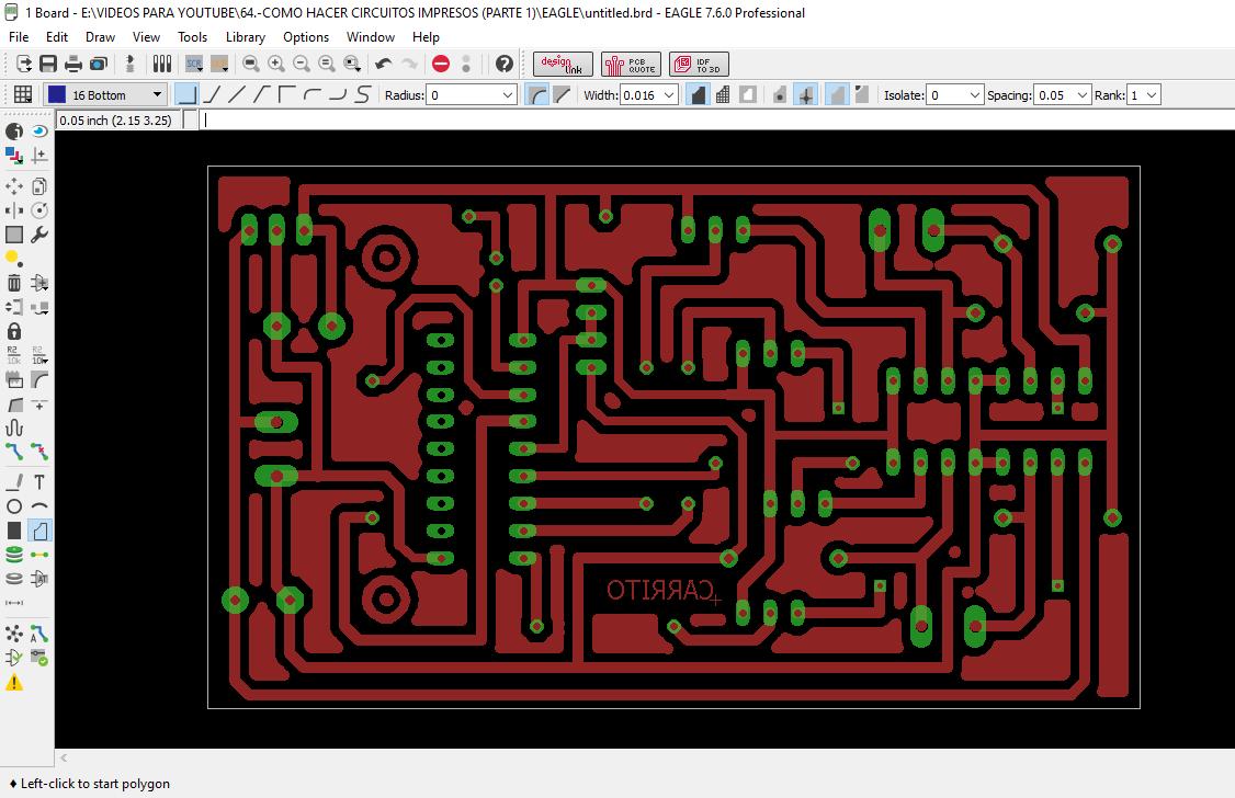 Como Diseñar Circuitos Impresos Con Eagle 7 0
