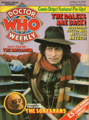 Doctor Who Weekly #8, Tom Baker