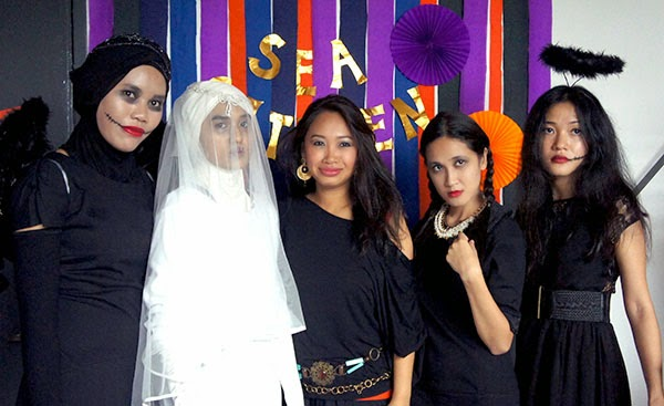 At SEA Citizen Halloween Party, Corpse Bride Outfit, Zombies, Wednesday Adam