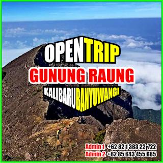 Open Trip Gunung Raung 2021 Via Kalibaru Banyuwangi 4H3M