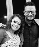 Devoleena Bhattacharjee with her brother