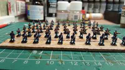 Finished the last Infantry except varnishing