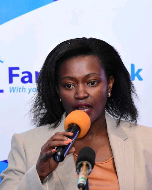 Family Bank CEO, Rebecca Mbithi