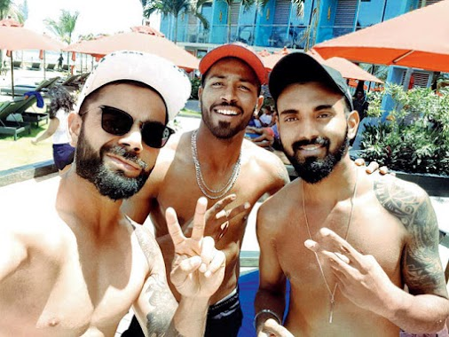 Hardik Pandya And Kl Rahul Photos Gallery