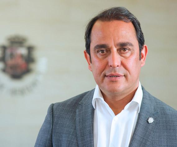 """blas acosta 1 - Blas Acosta presidente del Cabildo traslada mensaje de """"absoluta normalidad"""" tras primer positivo por coronavirus detectado en Fuerteventura"""