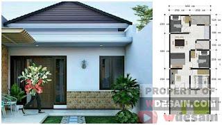 desain rumah 5x12 3 kamar tidur 1 lantai resize