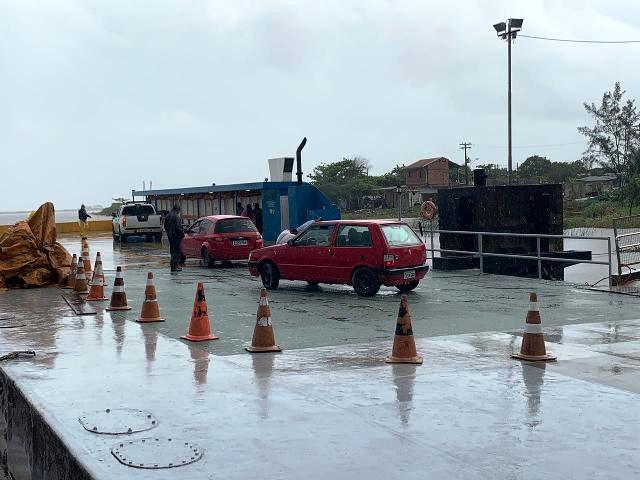 Obra concluída garante mais segurança no embarque e desembarque de veículos na travessia Iguape -Juréia