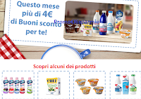Logo Parmalat: oltre 4€ di buoni sconto da stampare per il mese di Gennaio 2018