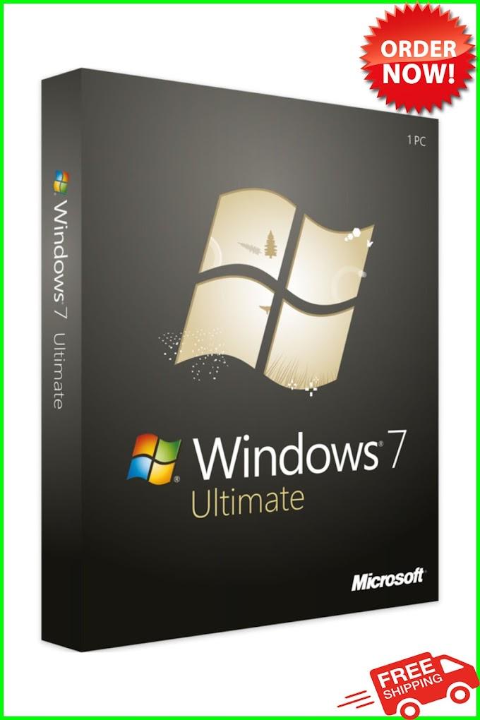 2021 Windows 7 ultimate Key Ⓒ Win 32/64-Bit
