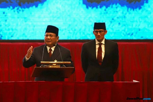 Jika Menang, Prabowo Ajak Seluruh Parpol Rival untuk Bangun Bangsa