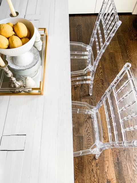 eclectic acrylic furniture