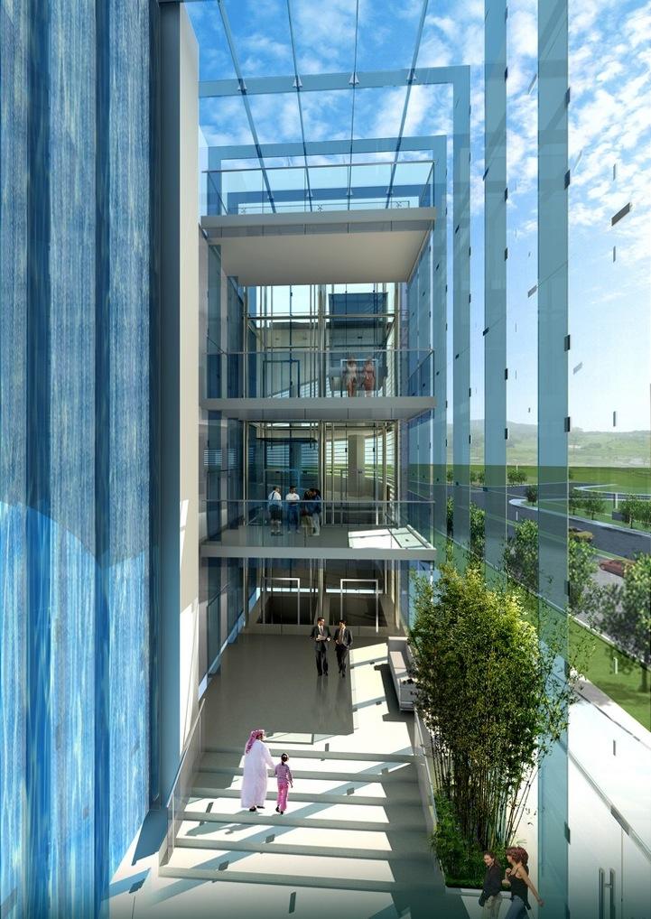 Кибер-архитектор придумал элитные небоскребы с балконами-бас.