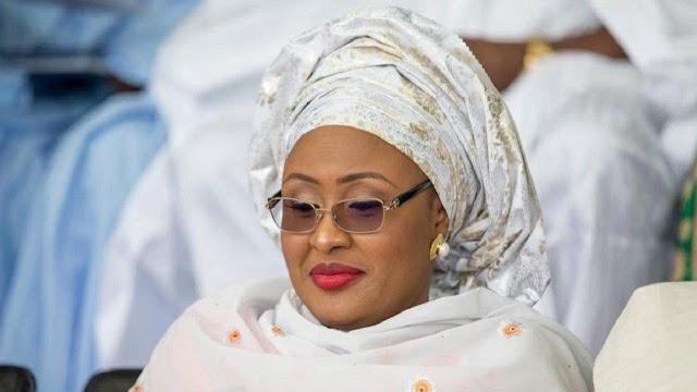 Aisha Buhari flown abroad to treat neck pain