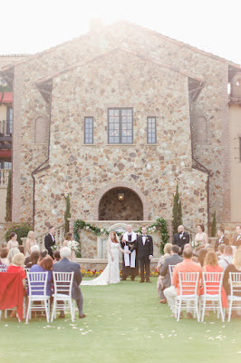 just married at bella colina