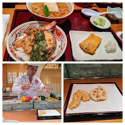 What to eat in Japan: freshly prepared tempura