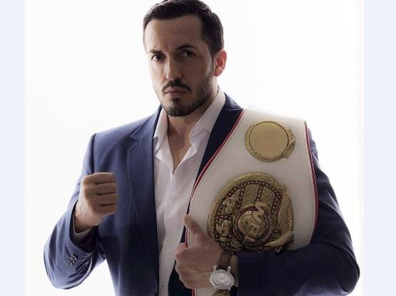 Albanian boxer European champion - Erzen Rustemi