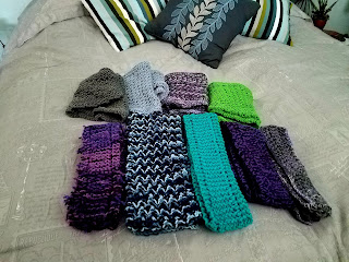 Winter scarves to share!