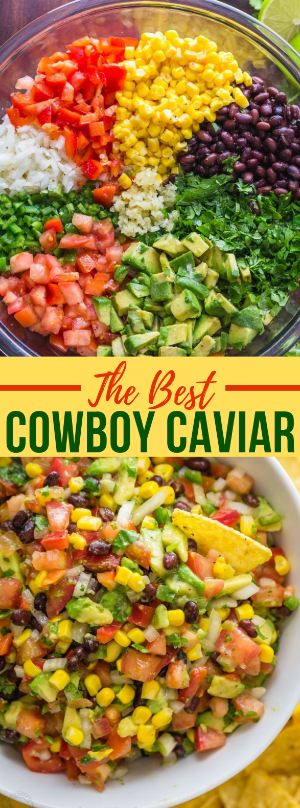 Cowboy Caviar Recipe #vegetarian #summer