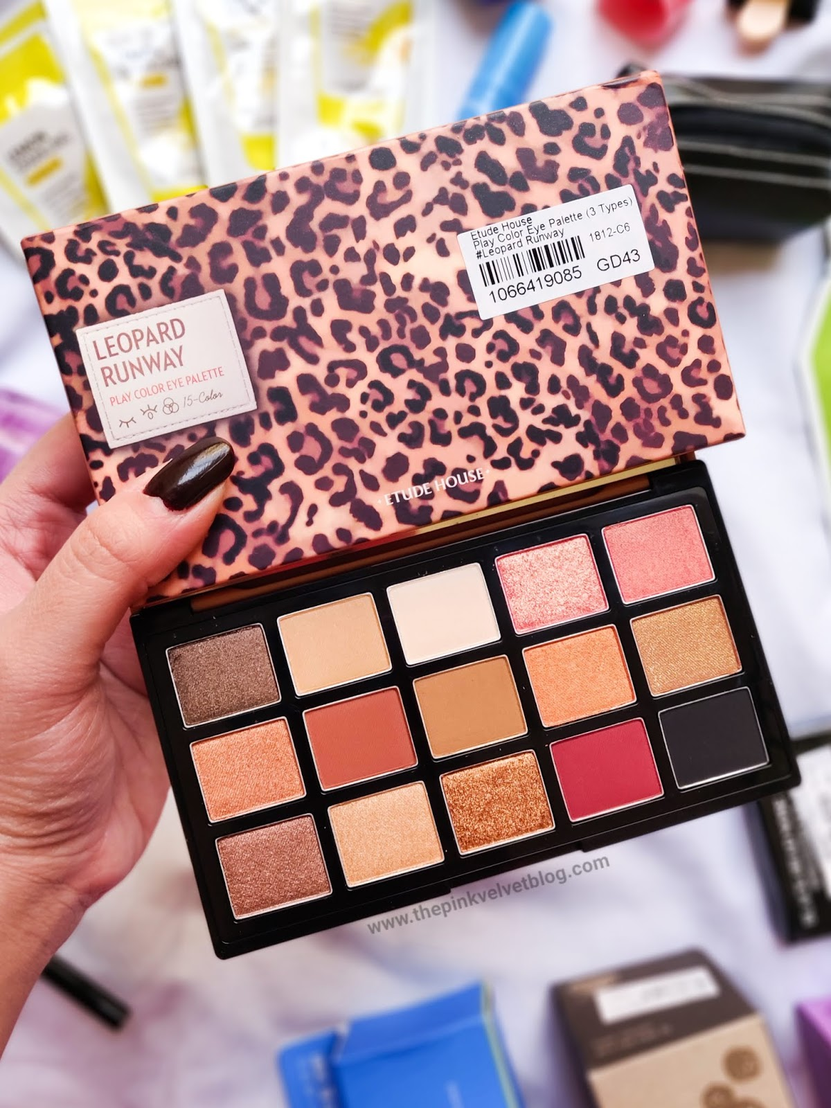 YesStyle Shopping Haul and Experience | YesStyle Shopping Haul and Experience | Korean Beauty Cosmetics from YesStyle - Etude House Leopard Palette