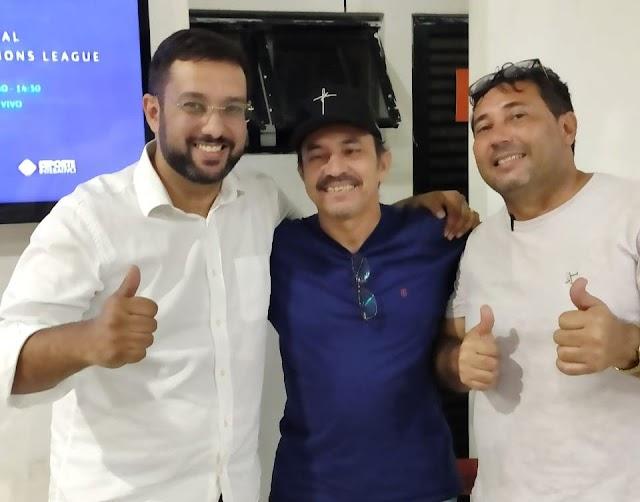 Aladim, Rômulo e Edson em busca da unidade pra enfrentar Tulio Lemos