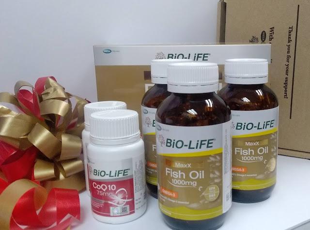 Bio-Life Fish Oil Dan CoQ10 Supplement Terbaik Untuk Gaya Hidup Aktif