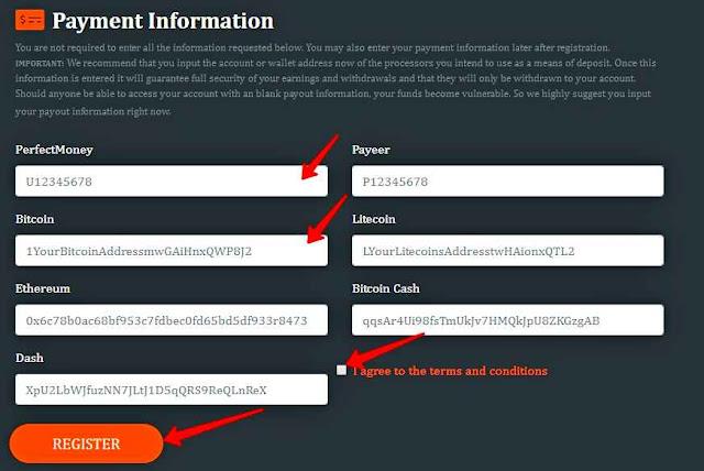 Регистрация нового аккаунта в хайп проекте Cryptoverdrive.com