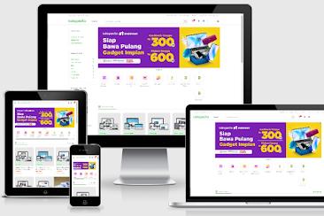 VioToko Tokopedia Template Blogger - Download Free