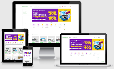 VioToko Tokopedia Template Blogger - Download Free