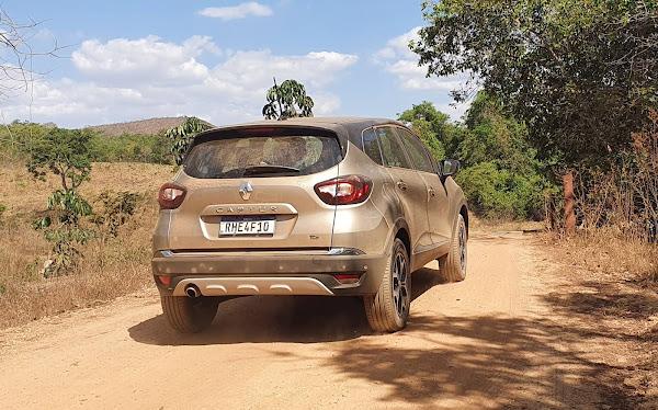 Novo Renault Captur 2022 Turbo - teste