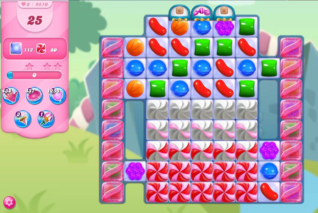 Candy Crush Saga level 9810