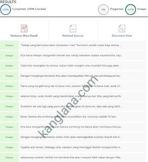 Cara Mengetahui Artikel blog Asli atau Copas (copy paste) menggunakan Plagiarism Checker