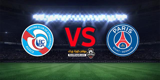 نتيجة مباراة باريس سان جيرمان وستراسبورج اليوم 23 ديسمبر 2020 في الدوري الفرنسي