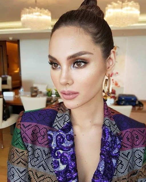 Miss Universe Catriona Gray stuns in Inaul dress by Jearsond