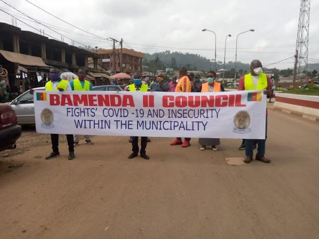 COVID-19: Bamenda II Mayor takes Fight to the streets