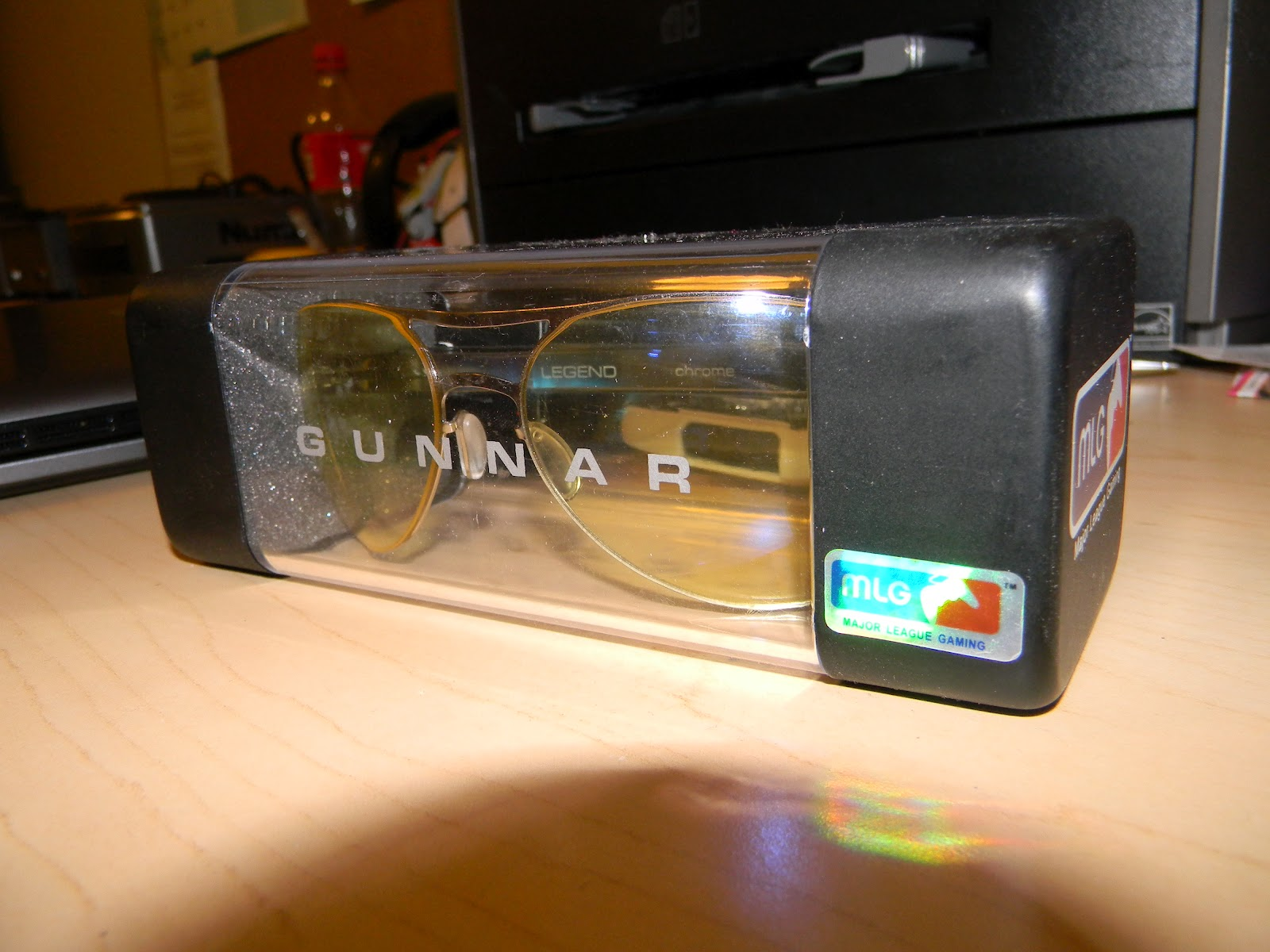 d092fbaca The Gunnar 'Legend' gaming glasses is MLG certified, so you know its ready  for some hardcore gaming.