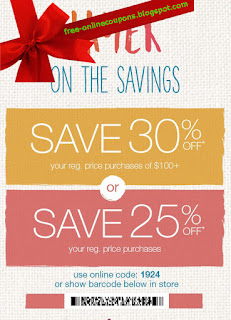 Free Printable Maurices Coupons