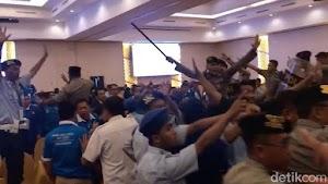 Kongres PAN di Kendari Ricuh, Peserta Saling Lempar Kursi!