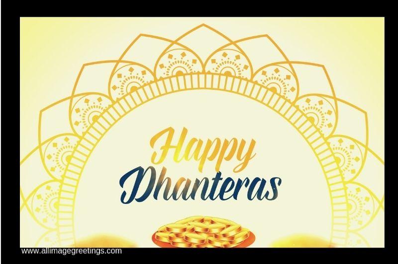 Dhanteras wish image