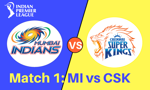 MI vs CSK match 1 IPL 2018