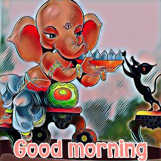 good morning ganesh bhagwan ka photo pic download