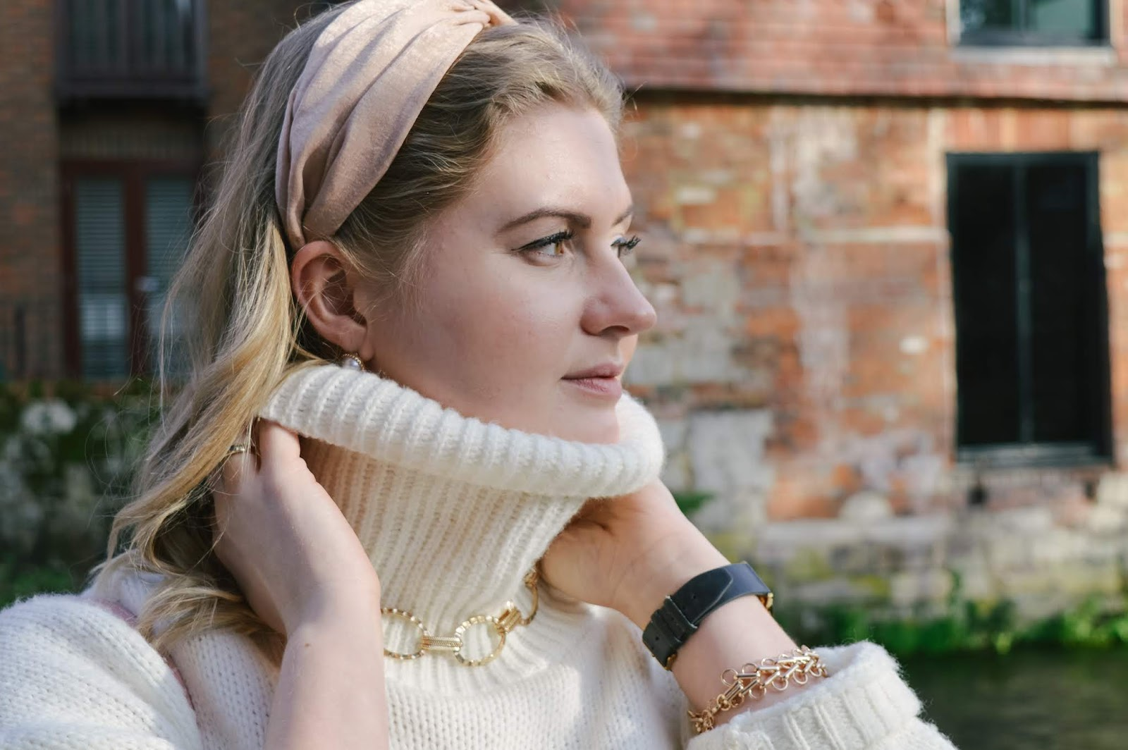 Reborn Jewellery styled by Dalry Rose blogger, Dalry Rose Blog, fashion blog