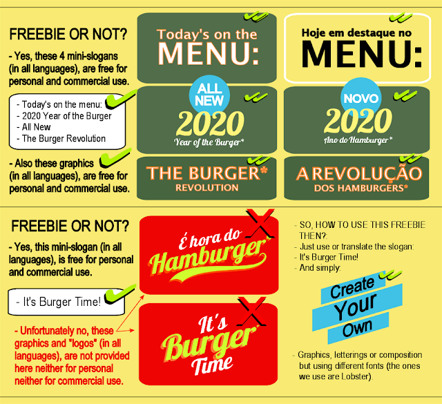 BIOVEGAN PORTUGAL ® THE BURGER REVOLUTION - FREEBIES EDITION