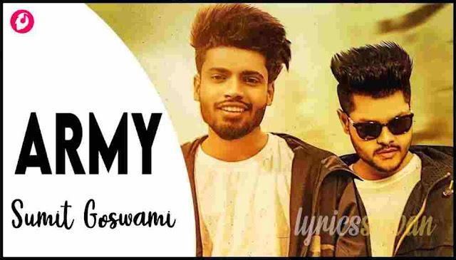 Feeling Proud Indian Army Lyrics in English