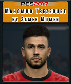 PES 2017 Faces Mahomud Trezeguet by Sameh Momen